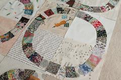 Liberty Single Girl progress (_name_taken_) Tags: libertyoflondon denyseschmidt singlegirlquilt lowvolumefabric