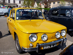 Renault R8S (fangio678) Tags: classic cars 04 s voiture renault collection coche oldtimer 06 ancienne r8 2014 youngtimer voituresanciennes chatenois r8s