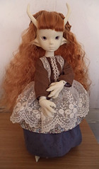 dollzone moon (sold) (Resin Rehab) Tags: moon doll dragon bjd mori dollzone