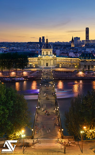 Pont des Arts from Louvre @ Blue Hour