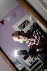 Day 40 of Project 365 (from the lens of G) Tags: portrait selfportrait scotland purple 365 selfie project365