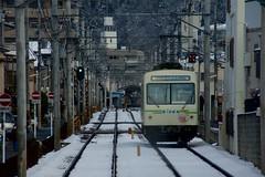 700 (kimtetsu) Tags: winter snow japan train kyoto rail     eiden