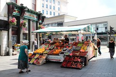 The Christian family's fruit stall, Cases Street, Liverpool (Towner Images) Tags: city copyright fruit liverpool market stall merseyside fruitseller towner casesstreet lizziechristian