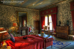 Queens Bedroom (AreKev) Tags: uk england house castle bedroom nikon village sigma queens herefordshire hdr mock eastnor revival eastnorcastle ledbury photomatixpro d7100 1750mmf28exdcoshsm nikond7100
