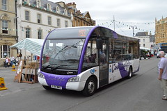 YJ14 BWG: Coachstyle, Nettleton (chucklebuster) Tags: solo sr cirencester optare coachstyle yj14bwg