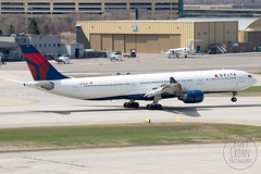 Delta A330-300 N817NW (KoryC757) Tags: minnesota minneapolis msp airbus deltaairlines a330300 mspinternationalairport n817nw phxspotters