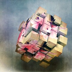 flower art smartphone cube iphone superphoto... (Photo: StickyQuote on Flickr)