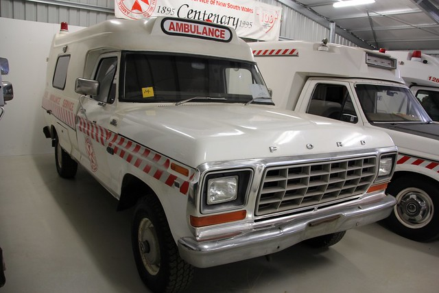 new ford wales south 4wd f100 ambulance service 1980 industries jakab fseries