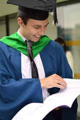 DSC_0010 (jdco) Tags: smile reading student university uea graduation norwich mathematics uni graduate gown undergraduate bsc universityofeastanglia