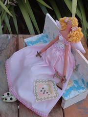 TILDA MENINA COSTUREIRA (gata arteira by cris) Tags: de bonecas pano boneca tilda decorao presentes costureira tildas
