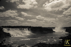 Niagara Falls 8.14-7 (27K Photography) Tags: blue summer sky newyork water clouds river niagarafalls waterfalls upstatenewyork americanfalls niagarariver niagarafallsontario niagarafallsny niagaragorge canadianfalls 27kphotography