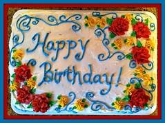 Flower Cake by Nancy, Cape Fear, NC, www.birthdaycakes4free.com
