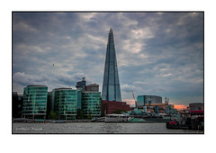 The Shard august 2014 (GerritHof) Tags: london canon thethames londonbuildings theshard