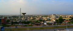 Defence Housing Authority, Islamabad - Miniature Effect (Waleed's Photography) Tags: houses islamabad dha