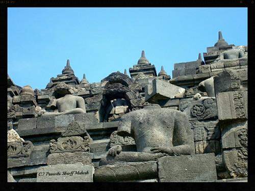 Headless Borobudur Buddhas