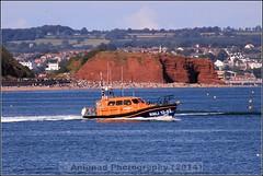 Exmouth RNLI 13-03 (G.L. Photography) Tags: lifeboat devon lancaster spitfire blades redarrows raiders chipmunks seaking rnli spearman beech18 dawlishairshow yak32