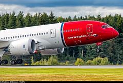 EI-LNG Boeing 787-8 Dreamliner Norwegian Long Haul (Andreas Eriksson - VstPic) Tags: oakland long norwegian to boeing haul dreamliner 7878 eilng