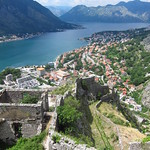 "Bay of Kotor and Fortress Walls <a style=""margin-left:10px; font-size:0.8em;"" href=""http://www.flickr.com/photos/14315427@N00/14840174772/"" target=""_blank"">@flickr</a>"
