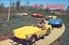 Legend City, Tempe Arizona (1950sUnlimited) Tags: family arizona fun parks postcards leisure rides 1960s midcentury legendcity leisureactivites