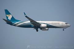 A4O-BE B737-800 Oman Air (JaffaPix +5 million views-thanks...) Tags: airplane flying aircraft aviation flight aeroplane oma boeing 737 wy b737 737800 b737800 omanair b738w b737800w obbi a4obe jaffapix davejefferys