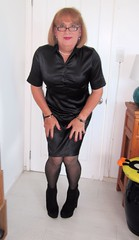 "Black Satin (Trixy Deans) Tags: pink sexy tv boots skirt tgirl tranny satin transgendered miniskirt sexylegs transsexual shemale blackdress miniskirts sexyblonde tgirls shemales xdresser satindress satinblouse sexyheels skirt"" sexytransvestite satintop"