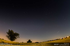 Perigeo de Agosto (felixbernet) Tags: nightphotography moon stars star exterior cereal straw luna fisheye cielo estrellas nocturna campo paja nocturne strawbales granangular balas perigee barbecho perigeo fotografanocturna tokina1017mm tecnicasfotograficas balasdepaja