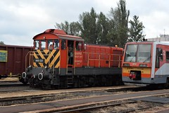 2014aug_Hmvhely_0669 (emzepe) Tags: railroad car station train private de tren hungary diesel gare engine eisenbahn railway zug bahnhof loco multiple series locomotive 449 ungarn treno chemin kft augusztus fer unit m44 gara 2014 416 mv dmu lokomotiv loko hongrie 021 036 nyr vonat bob triebwagen 6341 vast tgla hdmezvsrhely mozdony sorozat lloms magn krpt vastlloms putyin uzsgyi motorvonat motorkocsi dzel magnvast ktrszes plyaszm bpmot sorozat plyaszm sorozatszm sorozatszm