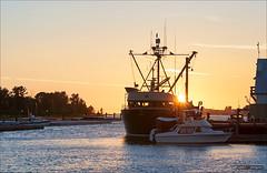Ocean Invader (Clayton Perry Photoworks) Tags: sunset summer vancouver richmond steveston explorebc explorecanada ilovebc