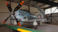Douglas AD-4N Skyraider in Cerny (J.Com) Tags: france museum aircraft aviation air musee cerny volant salis fertealais