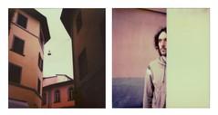 Garfagnana (La T / Tiziana Nanni) Tags: portrait man portraits polaroid sx70 luca analogue ritratti ritratto due pola impossible analogic polaroidsx70 colorfilm analogico dittic manportrait dittico neinostriluoghi tizianananni analogueportraits pagestizianananniphotography150081321701949 pagestizia