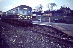 Ferryhill station c1968 (seanofselby) Tags: station train coast railway east mainline dmu ferryhill