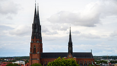 Uppsala Church-3 (athul vasudev) Tags: building church nature pattern sweden uppsala scandinavia vackra kyrka sigtuna d600