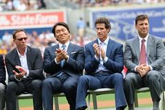 Joe Torre Day (apardavila) Tags: sports baseball yankeestadium mlb hidekimatsui pauloneill tinomartinez davidcone majorleaguebasbeball joetorreday