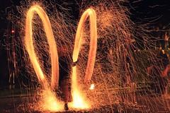 Juggle with steel wool (Sirius Band) (Madalin Ciortea) Tags: wool night long exposure steel romania sirius albaiulia