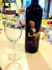 Marilyn Monroe wine time, taste great 8-28-14 (a.achten) Tags: