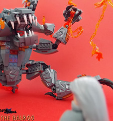 LEGO Lord of the Rings - Balrog (TheOneVeyronian) Tags: monster lego lotr demon lordoftherings balrog moc