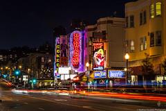 Broadway Street San Francisco (Matthew Kowalski) Tags: sanfrancisco california longexposure canon bigals cities bayarea lighttrails condor redlightdistrict starburst roaring20s broadwaystreet hungryiclub