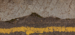 Rain On The Hills By The Yellow River (rvanr) Tags: street orkney stripe asphalt marking
