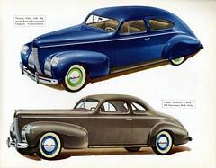 1939 Nash Ambassador Eight Coupe and Victoria Sedan (aldenjewell) Tags: 3 sedan 5 victoria passenger nash ambassador brochure eight coupe 1939