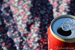 can of happiness (fridaerikzzon) Tags: canon focus colours cola can teen