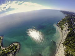 Scarborough Bluffs ((robcee)) Tags: lake toronto ontario canada drones 2014 geolocation geo:state=ontario geo:country=canada geo:city=toronto exif:aperture=ƒ28 camera:make=gopro exif:make=gopro exif:model=hero3blackedition camera:model=hero3blackedition exif:isospeed=100 exif:focallength=277mm geo:lat=43703538888888 geo:lon=79241925