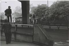 Dank Bank (Casey Mark Brown) Tags: blackandwhite bw london film 35mm skateboarding pentax kodak grain skate portsmouth vans cheesey supreme petersfield nikesb sp500