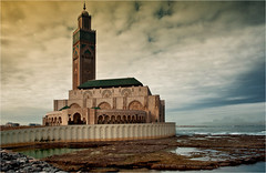 Hassan 11 Mosque #23 (Clive1945) Tags: sea sky mosque morocco casablanca hassan d5000