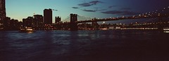 Interminable (santisss) Tags: new york nyc bridge film kodak hasselblad expired portra vc xpan 45mm 160 caducat caducado brooblyn