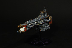 Apocalypse Class Battleship (AdmGR) Tags: apocalypse warhammer spaceship battleship wargame warhammer40000 warhammer40k wh40k battlecruiser imperium battlefleetgothic spacecruiser