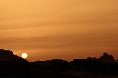 Evening Rolls Across Wadi Rum (The Spirit of the World) Tags: sunset sun sunlight desert wadirum middleeast jordan valley lawrenceofarabia wadi sevenpillarsofwisdom rememberthatmomentlevel1 rememberthatmomentlevel2
