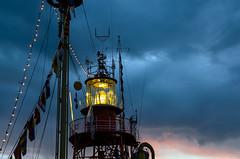 Lichtschip Noordhinder (Jan Jungerius) Tags: holland netherlands nederland dordrecht lightship niederlande stoom dordt dordtinstoom feuerschiff avondopname eveningshot lichtschip noordhinder abendaufnahme nhetherlands