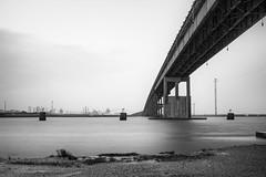 TSB - UTB (take 2) (jasonroecker) Tags: longexposure bridge blackandwhite bw nature water zeiss 35mm sony