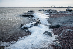 Ice Shore, Duluth