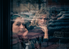 My Valentines...through the looking glass (Darren LoPrinzi) Tags: 5d brooklyn canon5d manhattan ny nyc urban canon city miii wife woman daughter expression reflection glass window restaurant women serious pensive mood moody eyes beautiful valentine valentinesday love family